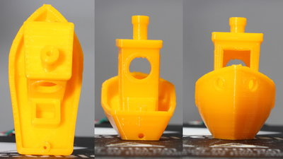 Anycubic i3 Mega 3D printer sample print 3DBenchy