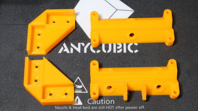 Anycubic i3 Mega 3D printer sample print linear drives