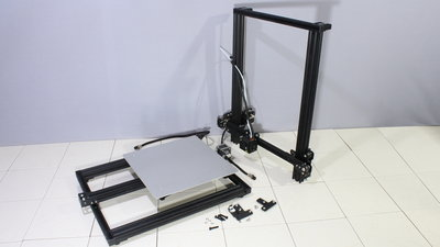 CR-10S 3D printer assembly