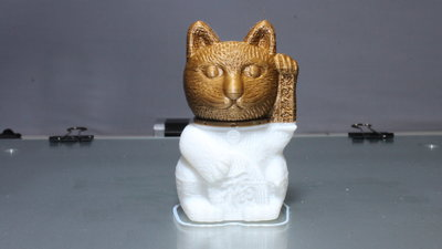 CR-10S 3D sample print cat