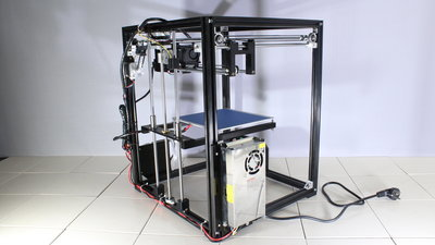 Tronxy X5 3D printer assembly pictures - HomoFaciens