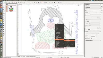 Plotter from a 3D printer - HomoFaciens