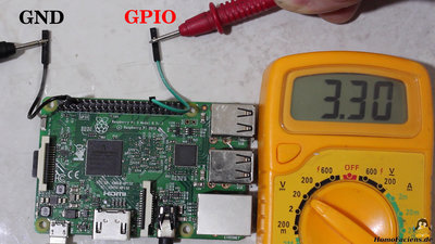 GPIO of a Raspberry Pi