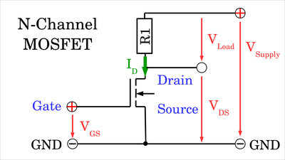 Switching N-channel MOSFETs