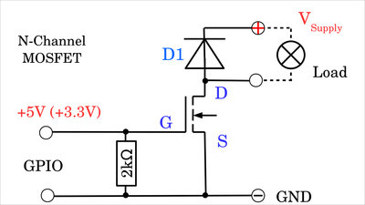 N-channel MOSFETs, example 1