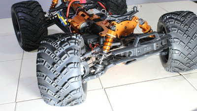 DHK Hobbie Zombie 8E RC model car