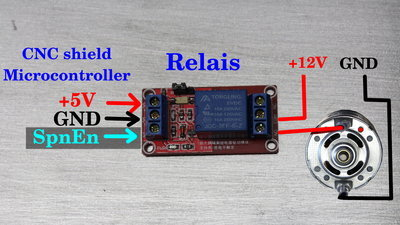 Cnc T X on Arduino Two Motor Control Relay