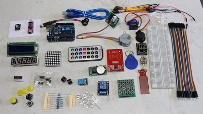 Microcontroller starter kit