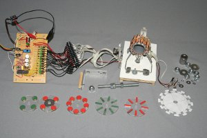 Components of model motor