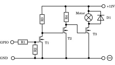 Amplifying with power transistor
