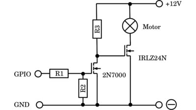 Amplifying with power transistors