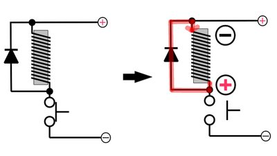 Flyback diode