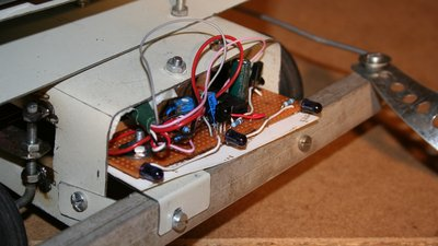 Rover 2.0 with infrared interface